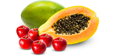 Papaya and Barbados Cherry